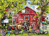 Lori, LANDSCAPES, LANDSCHAFTEN, PAISAJES, paintings+++++Pretty Boys_72_2014,USLS274,#l#, EVERYDAY ,puzzle,puzzles