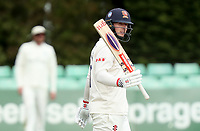 Simon Harmer of Essex celebrates scoring fifty runs during Worcestershire CCC vs Essex CCC, LV Insurance County Championship Group 1 Cricket at New Road on 30th April 2021