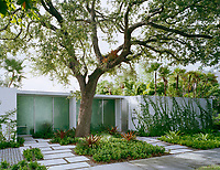 In homage to Mies van der Rohe, Miami