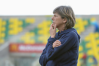 20190304 - LARNACA , CYPRUS : Italian head coach Milena Bertolini  pictured during a women's soccer game between Italy and Thailand , on Monday 4 March 2019 at the AEK Arena in Larnaca , Cyprus . This is the third game in group B for both teams during the Cyprus Womens Cup 2019 , a prestigious women soccer tournament as a preparation on the FIFA Women's World Cup 2019 in France . PHOTO SPORTPIX.BE | STIJN AUDOOREN