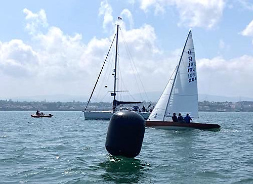 IRL 201 Titan in her first race since refit wins the opening race of the Dragon East coast Championships. Photo: Adam Winkelmann
