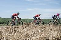 Jasper Stuyven (BEL/Trek Segafredo)<br /> <br /> Binckbank Tour 2018 (UCI World Tour)<br /> Stage 6: Riemst (BE) - Sittard-Geleen (NL) 182,2km