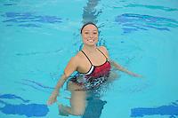 Kimiko Urata of the 2010 Stanford Synchronized Swimming team.