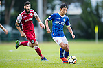 Pui Fung Liu of Rangers (R) in action during the Premier League, week two match between Kwoon Chung Southern and BC Rangers at on September 09, 2017 in Hong Kong, China. Photo by Marcio Rodrigo Machado / Power Sport Images