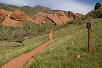 Hiking trail at Roxborough State Park, Colorado .  John leads hiking and photo tours throughout Colorado. .  John leads hikes and private photo tours in Boulder and throughout Colorado. Year-round.