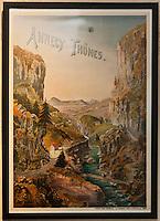 Europe/France/Rhône-Alpes/74/Haute-Savoie/Annecy: Vieille affiche pour la région d' Annecy  et Thones au  Musée-Château d'Annecy [Non destiné à un usage publicitaire - Not intended for an advertising use]