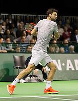 ABN AMRO World Tennis Tournament, Rotterdam, The Netherlands, 14 februari, 2017, Grigor Dimitrov (BUL)<br /> Photo: Henk Koster