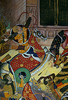 "Mughal India:  ""A Fortress Under Siege""--detail."