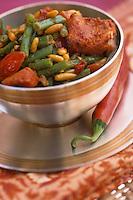 Asie/Inde/Bombay : Saumon tendori - recette du Taj Mahal Palace