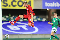 7th September 2020; Windsor Park, Belfast, County Antrim, Northern Ireland; EUFA Nations League, Group B, Northern Ireland versus Norway; Alexander Sorloth of Norway scores in the 19th minute to make it 3-1 Norway