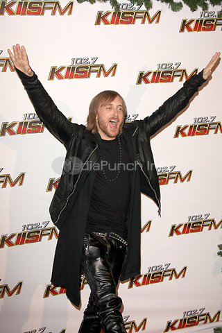 David Guetta at 102.7 KIIS FM's Jingle Ball at the Nokia Theatre L.A. Live on December 3, 2011 in Los Angeles, California. © mpi21 / MediaPunch Inc.