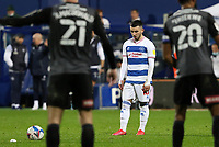 Ilias Chair of Queens Park Rangers lines up for a free kick during Queens Park Rangers vs Rotherham United, Sky Bet EFL Championship Football at The Kiyan Prince Foundation Stadium on 24th November 2020