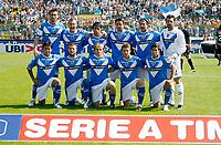 12-09-2010 Brescia sport calcio <br /> Serie A Tim 2010-2011 <br /> Brescia-Palermo serie a<br /> nella foto formazione brescia<br /> ph. Prater/Insidefoto