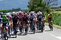 8th July 2021; Nimes, France; POGACAR Tadej (SLO) of UAE TEAM EMIRATES during stage 12 of the 108th edition of the 2021 Tour de France cycling race, a stage of 159,4 kms between Saint-Paul-Trois-Chateaux and Nimes.