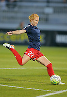 Boyds, MD - Wednesday Sept. 07, 2016: Victoria Huster during a regular season National Women's Soccer League (NWSL) match between the Washington Spirit and the Seattle Reign FC at Maureen Hendricks Field, Maryland SoccerPlex.