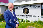 Ed O'Brien retiring as principal of Holy Family NS in Tralee.