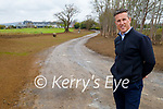 Padraig McGillicuddy of the Ballygarry House Hotel standing on the pathway to the wetlands at the hotel where there is major development work taking place