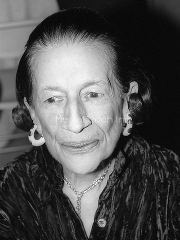 Diana Vreeland 1978<br /> Photo By Adam Scull/PHOTOlink/MediaPunch