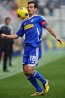 "Marco PAROLO (Cesena).Parma 30/10/2011 Stadio ""Ennio Tardini"".Serie A 2011/2012.Football Calcio Parma Vs Cesena.Foto Insidefoto Alessandro Sabattini."