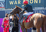 January 23, 2021:  #1 Performer with his connections in the winners circle after winning  the Fred W Hooper GIII Stakes  at Gulfstream Park in Hallandale Beach, Florida.  Liz Lamont/Eclipse Sportswire/CSM