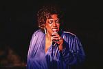 Lorez Alexandria, Apr 1991 : Lorez Alexandria performing at Tokyo, Japan