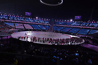 OLYMPIC GAMES: PYEONGCHANG: 09-02-2018, PyeongChang Olympic Stadium, Olympic Games, Opening Ceremony, Team USA, ©photo Martin de Jong