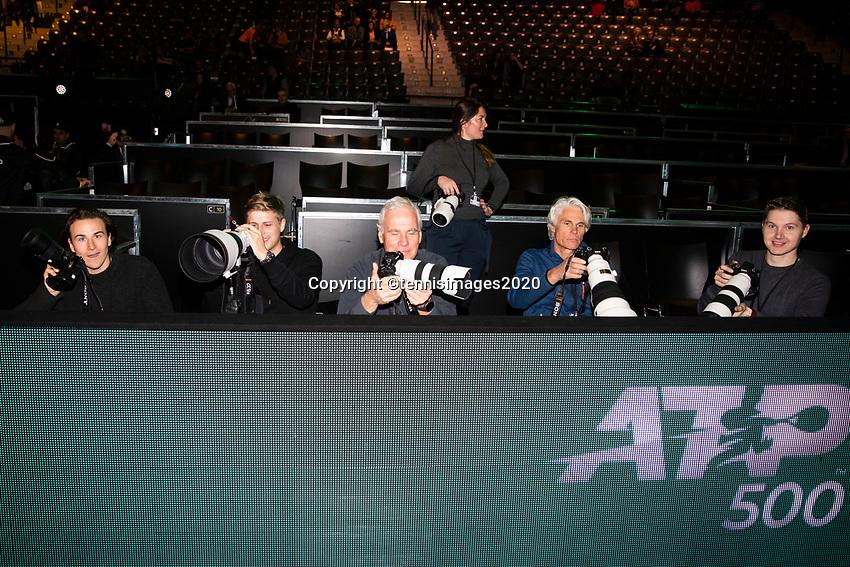 Rotterdam, The Netherlands, 11 Februari 2020, ABNAMRO World Tennis Tournament, Ahoy, <br /> Karen Khachanov (RUS), Fabio Fognini (ITA).<br /> Photo: www.tennisimages.com