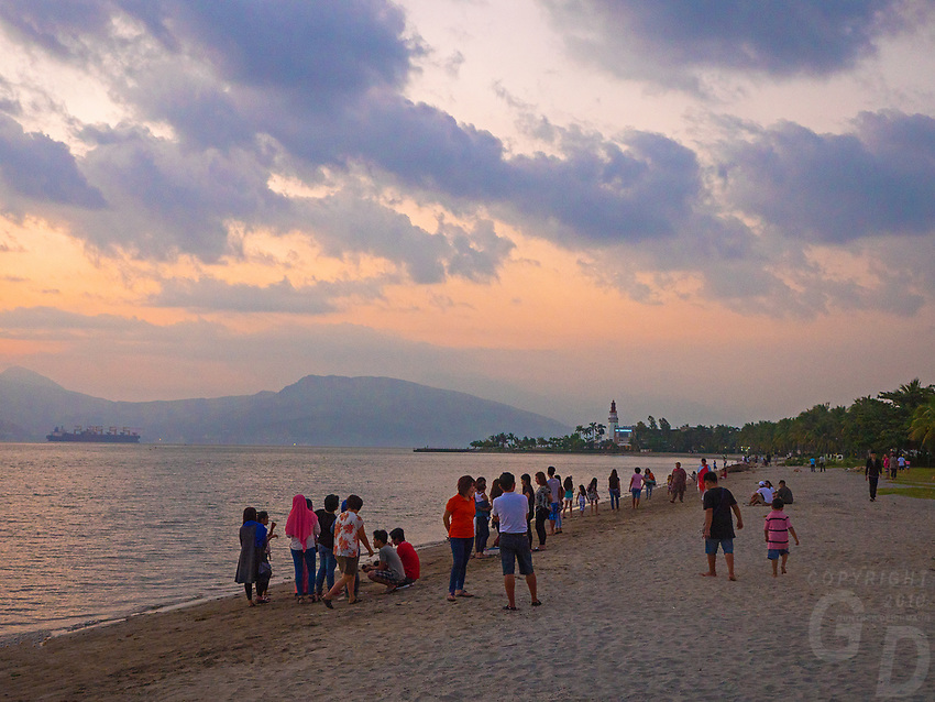 Subic Bay Beach, Pampanga,Philippines