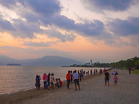 Subic Bay Beach, Pampanga,Philippines