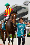 SHA TIN,HONG KONG-MAY 01: Maurice ,ridden by Joao Moreira ,wins the Champions Mile at Sha Tin Racecourse on May 01,2016 in Sha Tin,New Territories,Hong Kong (Photo by Kaz Ishida/Eclipse Sportswire/Getty Images)