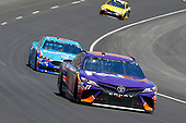 2017 Monster Energy NASCAR Cup Series<br /> O'Reilly Auto Parts 500<br /> Texas Motor Speedway, Fort Worth, TX USA<br /> Sunday 9 April 2017<br /> Denny Hamlin, FedEx Office Toyota Camry and Aric Almirola<br /> World Copyright: Russell LaBounty/LAT Images<br /> ref: Digital Image 17TEX1rl_5094