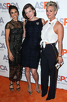 BEL AIR, CA, USA - OCTOBER 22: Nikki Reed, Milla Jovovich, Kaley Cuoco, Kaley Cuoco-Sweeting arrive at the 2014 ASPCA Compassion Award Dinner Gala held at a Private Residence on October 22, 2014 in Bel Air, California, United States. (Photo by Xavier Collin/Celebrity Monitor)