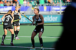 The Hague, Netherlands, June 05: Petrea Webster #6 of New Zealand warms up before the field hockey group match (Women - Group A) between New Zealand and The Netherlands on June 5, 2014 during the World Cup 2014 at Kyocera Stadium in The Hague, Netherlands. Final score 0-2 (0-2) (Photo by Dirk Markgraf / www.265-images.com) *** Local caption ***
