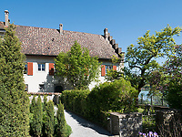Garten, Kloster zum heiligen Georg, Stein am Rhein, Kanton Schaffhausen, Schweiz<br /> garden, Saint George's Abbey in Stein am Rhein, Canton Schaffhausen, Switzerland