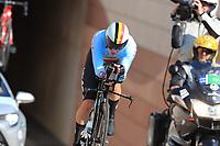 9th September 2021; Trento, Trentino–Alto Adige, Italy: 2021 UEC Road European Cycling Championships, Womens Individual time trials:  VAN DE VEL Sara (BEL)