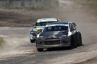 Mark Donnelly, Citreon DS3, BRX Supercars ahead of Derek Tohill, Ford Fiesta MkVII, BRX Supercars through Chessons during the 5 Nations BRX Championship at Lydden Hill Race Circuit on 31st May 2021