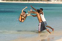 Cuba, am Strand von Ancon bei Trinidad, Provinz Sancti Spiritus