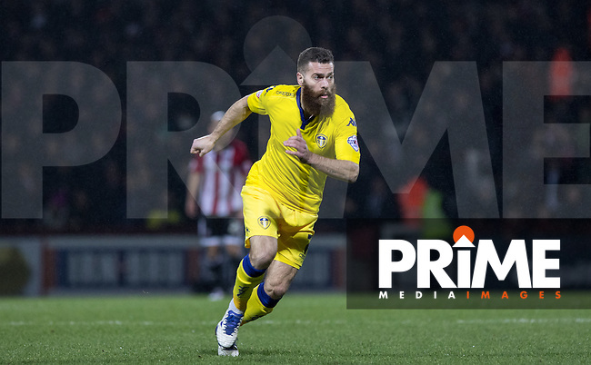 Mirco Antenucci of Leeds United during the Sky Bet Championship match between Brentford and Leeds United at Griffin Park, London, England on 26 January 2016. Photo by Andy Rowland / PRiME Media Images.