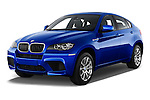 Front three quarter view of a 2013 Bmw X6 M 5 Door Suv 4WD