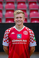 16th August 2020, Rheinland-Pfalz - Mainz, Germany: Official media day for FSC Mainz players and staff; Jonathan Burkardt FSV Mainz 05
