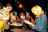 20-2-06, Netherlands, tennis, Rotterdam, ABNAMROWTT, Autographsession with Richard and Daphne Krajicek