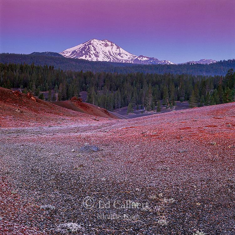 Dawn, Painted Desert, Lassen Peak, Lassen Volcanic National Park, California