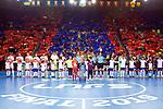 League LNFS 2018/2019.<br /> PlayOff Final. 1er. partido.<br /> FC Barcelona Lassa vs El Pozo Murcia: 7-2.