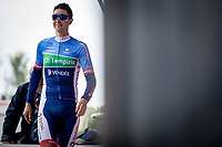 Niki Terpstra (NED/Total - Direct Energie) pre race<br /> <br /> Circuit de Wallonie 2019<br /> One Day Race: Charleroi – Charleroi 192.2km (UCI 1.1.)<br /> Bingoal Cycling Cup 2019