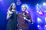 "Cochita and Hombres G attends the ""POR ELLAS"" Concert of Cadena 100 at Barclaycard Center in Madrid, Spain. November 7, 2014. (ALTERPHOTOS/Carlos Dafonte)"