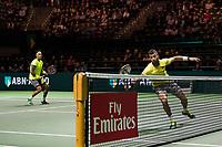 Rotterdam, The Netherlands, 17 Februari, 2018, ABNAMRO World Tennis Tournament, Ahoy, Tennis, Semi Final doubles: Horia Tecau (ROU) / Jean-Julien Rojer (NED) (L)<br /> <br /> Photo: www.tennisimages.com