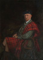 The 31st chief, Sir Hector Munro, who moved back into the house with his wife, Violet, beginning its rehabilitation