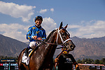 MAY 31, 2021:  Smooth Like Strait and Umberto Rispoli win the Shoemaker Mile Stakes at Santa Anita Park in Arcadia, California on May 31, 2021. EversEclipse Sportswire/CSM