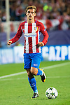 Atletico de Madrid's player Antoine Griezmann during match of UEFA Champions League at Vicente Calderon Stadium in Madrid. September 28, Spain. 2016. (ALTERPHOTOS/BorjaB.Hojas)