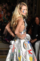 Alice Dellal<br /> at the Pam Hogg catwalk show as part of London Fashion Week SS17, Freemason's Hall, Covent Garden, London<br /> <br /> <br /> ©Ash Knotek  D3155  16/09/2016